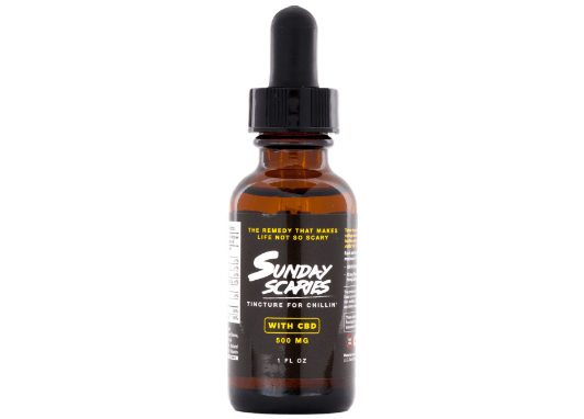 Front side of CBD Tincture to keep you chill